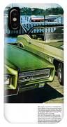 1969 Pontiac Gto And Firebird IPhone Case