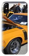 1970 Boss Mustang IPhone Case