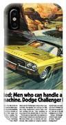 1973 Dodge Challenger Rallye IPhone Case