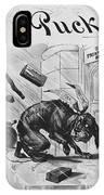 19th Century Political Cartoon IPhone Case
