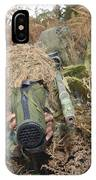 A British Army Sniper Team Dressed IPhone Case