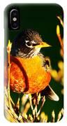 American Robin IPhone Case