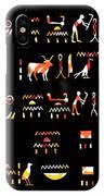 Ancient Egyptian Hieroglyphs IPhone Case