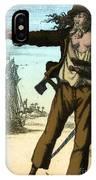 Anne Bonny, 18th Century Pirate IPhone Case