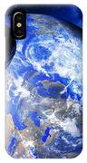 Asteroid Approaching Earth IPhone Case