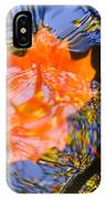 Autumn Leaf On The Water IPhone Case