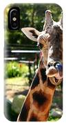 Baringo Giraffe IPhone Case