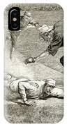 Baseball Game, 1885 IPhone Case