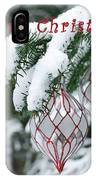 Christmas Card 2194 IPhone Case