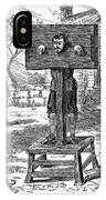 Colonial Pillory - To License For Professional Use Visit Granger.com IPhone Case