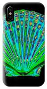 Coloured X-ray Of A Pecten Scallop Shell IPhone Case