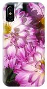 Dahlia Named Pink Bells IPhone Case