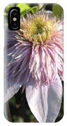 Double Clematis Named Empress IPhone Case
