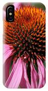 Echinacea Purpurea Or Purple Coneflower IPhone Case