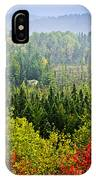 Fall Forest Rain Storm IPhone Case