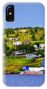 Fishing Village In Newfoundland IPhone Case