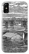 Flood: Clarksville, 1874 IPhone Case