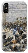 Freedmens Village, 1866 IPhone Case