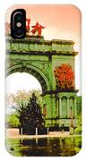 Grand Army Plaza IPhone Case