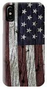 Grungy Textured Usa Flag IPhone Case