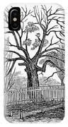 Hartford: Charter Oak IPhone Case