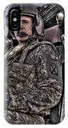 Hdr Image Of A Pilot Sitting IPhone Case