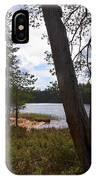 Lake Huosius At Hossa IPhone Case