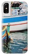 Maltese Harbor IPhone Case