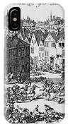 Massacre Of Huguenots IPhone Case