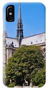 Notre Dame Cathedral Paris France IPhone Case