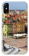 Old Town In Warsaw IPhone X Case