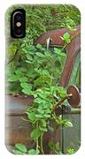 Overgrown Rusty Ford Pickup Truck IPhone Case