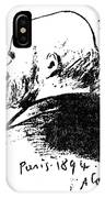 Paul Verlaine (1844-1896) IPhone Case