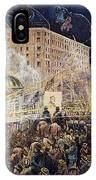 Presidential Campaign: 1876 IPhone Case