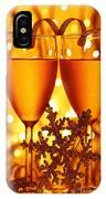 Romantic Holiday Celebration IPhone Case