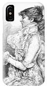 Sarah Bernhardt IPhone Case