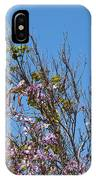 Saucer Magnolia Or Tulip Tree Magnolia X Soulangeana IPhone Case