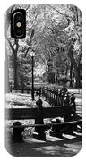 Scenes From Central Park IPhone Case