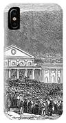 South Africa: Cape Town IPhone Case