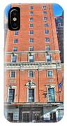 Statler Towers IPhone Case