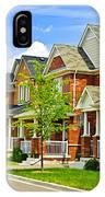 Suburban Homes IPhone Case
