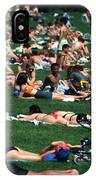 Summer In Central Park IPhone Case