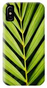 Tropical Palm Frond IPhone Case