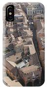 View Of Bologna From The Torre Degli IPhone Case