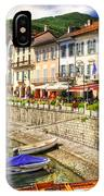 Village On The Lake Front IPhone Case