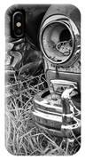 Vintage Frazer Auto Wreck Front Ends  IPhone Case