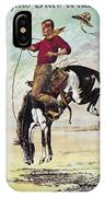 W.f. Cody Poster, C1885 IPhone Case
