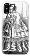 Womens Fashion. C1850s IPhone Case