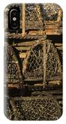 Wooden Lobster Traps IPhone Case