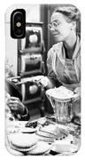 Film Still: Eating & Drinking IPhone Case